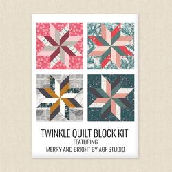 Twinkle Quilt Block Kit