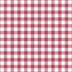 Woodland Gingham in Cherry Red
