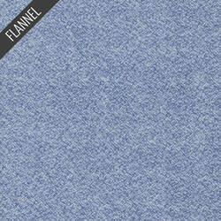 Shetland Melange Flannel in Denim