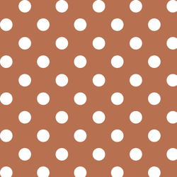 Marble Dot in Terracotta