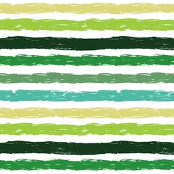 Happy Stripe in Green
