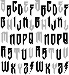 Text Me in Black on White Metallic