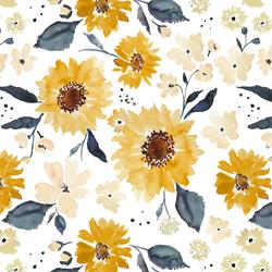 Sunflower Girl in Cream