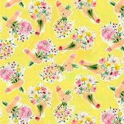 Hand Bouquet in Goldfinch