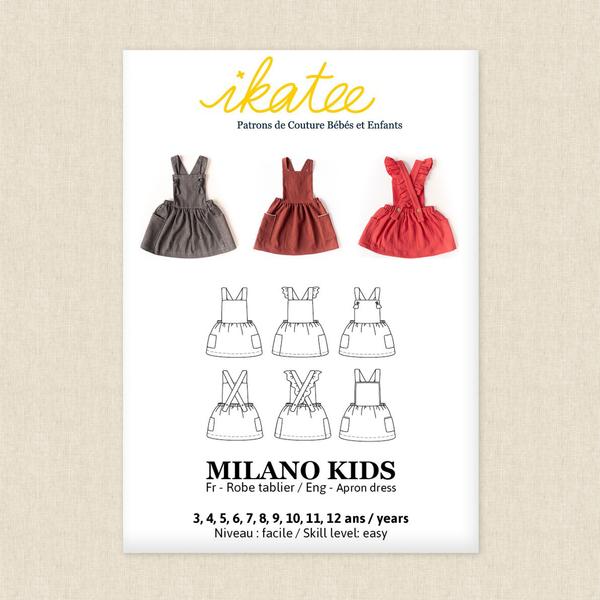 Milano Dress Kids Sewing Pattern By Ikatee Hawthorne