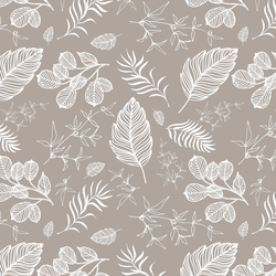 Foliage in Taupe