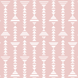 Little Tribal Stripe in Blush