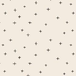 Swiss Crosses in Graphite on Egret