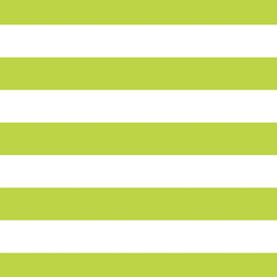 Horizontal Play Stripe in Lime