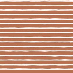Artisan Stripe in Terracotta