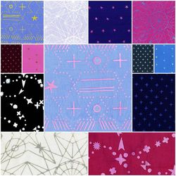 Observatory Fat Quarter Bundle in Cool