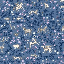 Mystical Animals in Navy