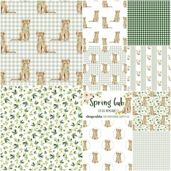 Spring Cub Fat Quarter Bundle in Little Boy Cub