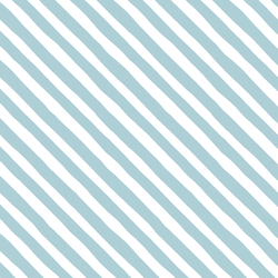 Rogue Stripe in Powder Blue