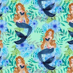 Mermaid Song in Minty