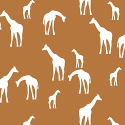Giraffe Silhouette in Ginger