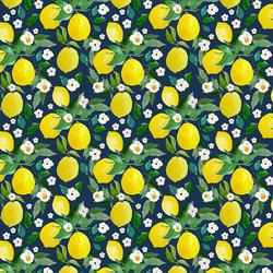 Small Lemons in Navy
