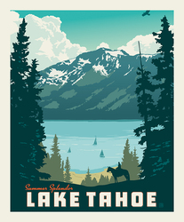 Poster Panel in Lake Tahoe