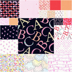 Oh Baby Fat Quarter Bundle in Girl