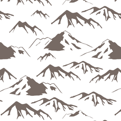 Big Mountain Range in Woodland Stone