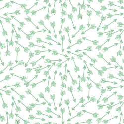 Arrows in Sprout on White