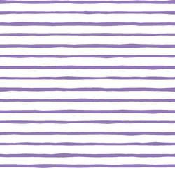 Artisan Stripe in Amethyst on White
