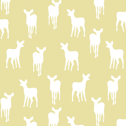 Fawn Silhouette in Buttercup