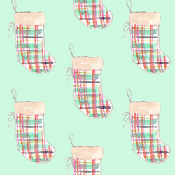 Stockings in Bright Mint