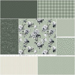 Gingham Farm Fat Quarter Bundle in Pastoral
