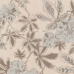 Floral Single Border in Pearl Pearlized