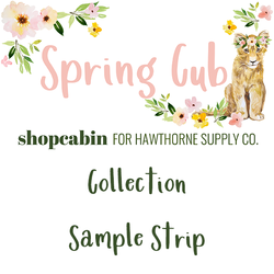 Spring Cub Sample Strip