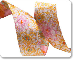 Sweet Floral in Pink and Yellow