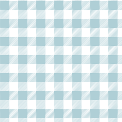Medium Buffalo Plaid in Powder Blue