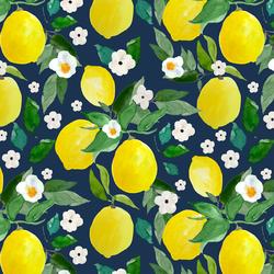 Large Lemons in Navy