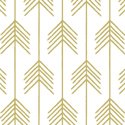 Vanes in Brass on White