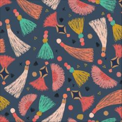 Tawny Tassels in Multi
