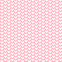Hearts in Rose Pink