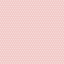 Polka Dots in Pink Rose