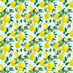 Small Lemons in Spring Breeze