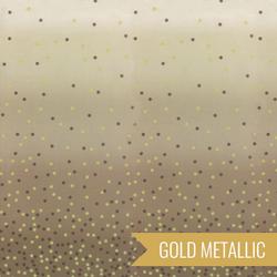 Ombre Confetti Metallic in Taupe