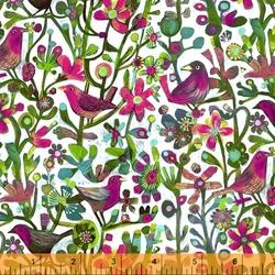 Jolly Robins in Fuchsia