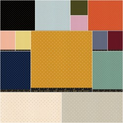 Alma Fat Quarter Bundle in Add it Up