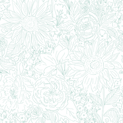 Paperie in Island Green on White