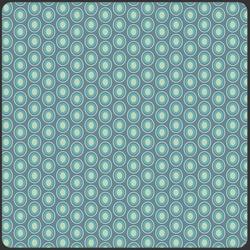 Oval Elements in Vintage Blue