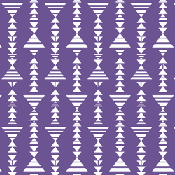 Little Tribal Stripe in Ultra Violet