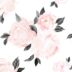 Large Blush Floral in Vintage