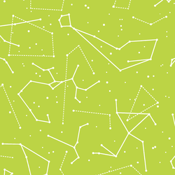 Star Charts in Lime