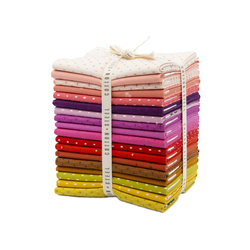 Cotton and Steel Basics Fat Quarter Bundle in Warm