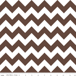 Medium Chevron in Brown