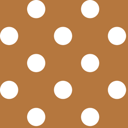 Jumbo Dot in Ginger